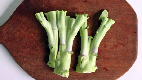 broccoli stems, as healthy as florets?