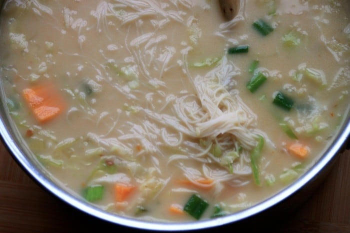 Asian Coconut Cabbage Soup07