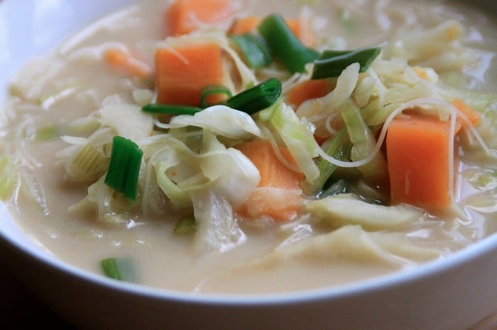 Asian Coconut Cabbage Soup11