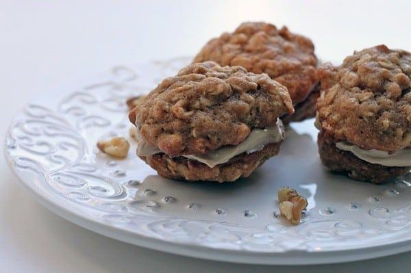 Maple walnut sandwich cookies5