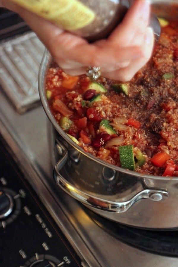 Quinoa chili2