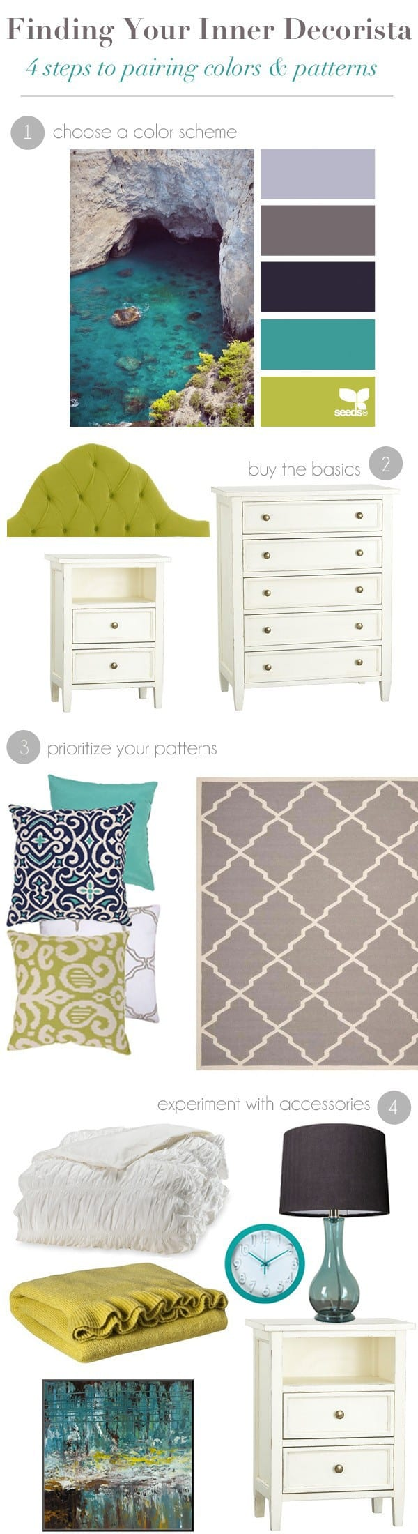 Target color and pattern post