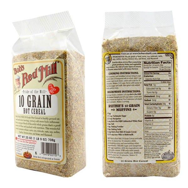 Whole grain 10 1 ratio