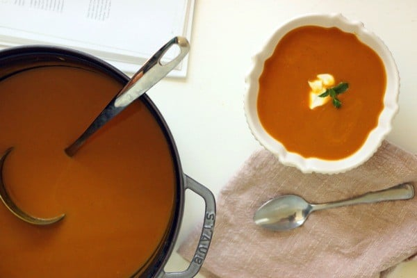 Curried butternut squash soup3
