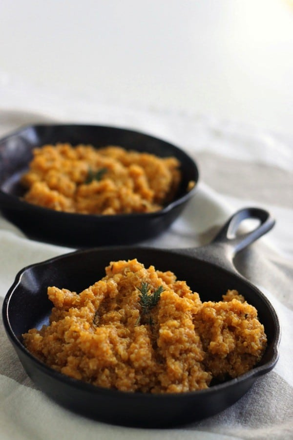 Pumpkin quinoa with thyme2