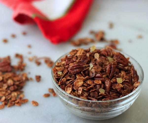 Gingerbread granola nutritionella 10