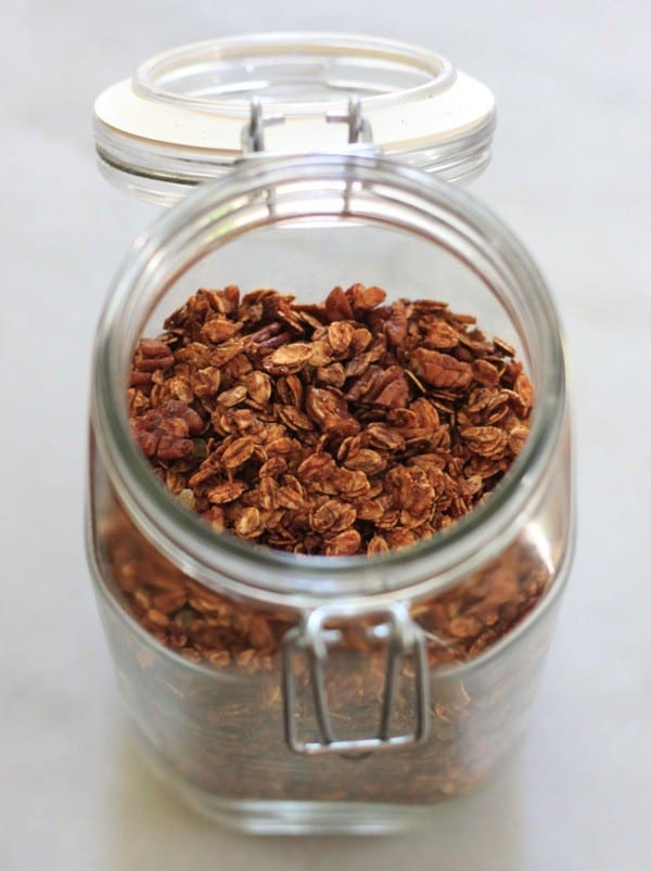 Gingerbread granola nutritionella15
