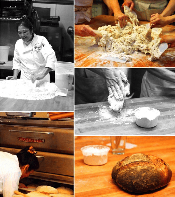 Sour flour dough development class